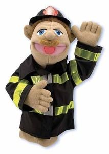 Melisa & Doug Firefighter puppet
