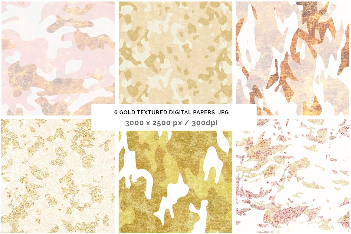 Camouflage Glam Patterns + Papers | Camouflage, Vector pattern and ...