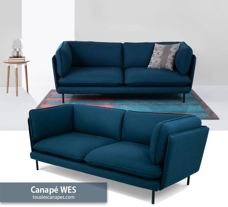 Canape Bleu 20 Modeles Pour Vous Inspirer Et Decorer Votre Salon Canape Bleu Canape Bleu Petrole Bleu Clair