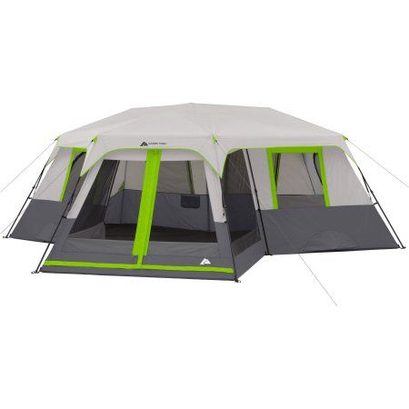 Ozark Trail 12-Person 3 Room Instant Cabin Tent with Screen Room Multicolor  sc 1 st  Pinterest & Ozark Trail 12-Person 3 Room Instant Cabin Tent with Screen Room ...