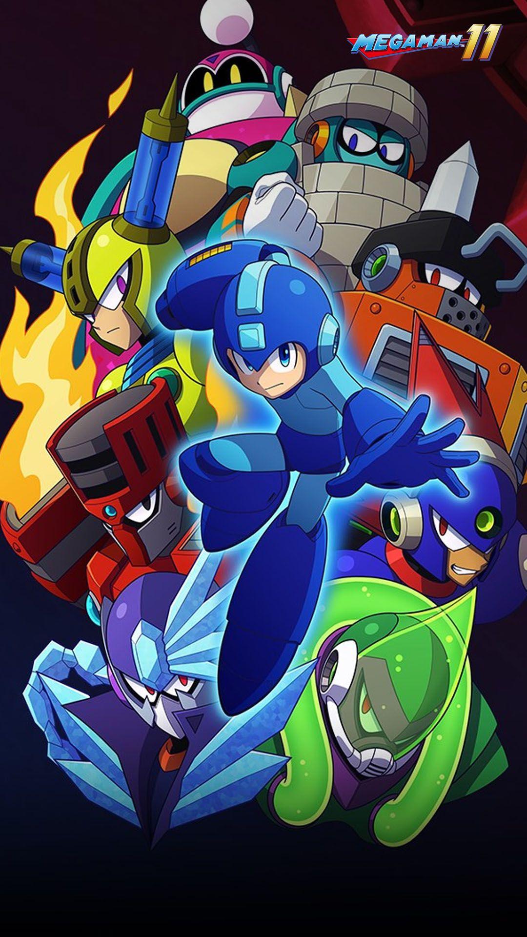 Wallpaper Gamer Mega Man 11 Mega Man Art Mega Man Game Art