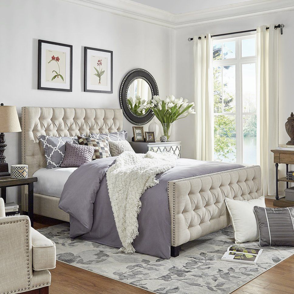 Get inspired by Glam Bedroom Design photo by Wayfair. Wayfair lets