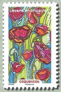 Sello: Poppy (Francia) (Flore) Yt:FR A1300,Mi:FR 6501