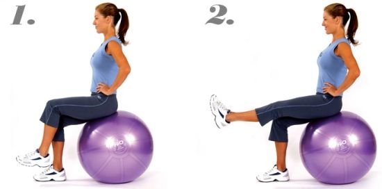 Top 7 Swiss Ball Exercises | Styles At Life