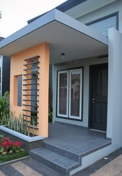 Minimalist House Terrace Design Desain Teras Rumah Minimalis