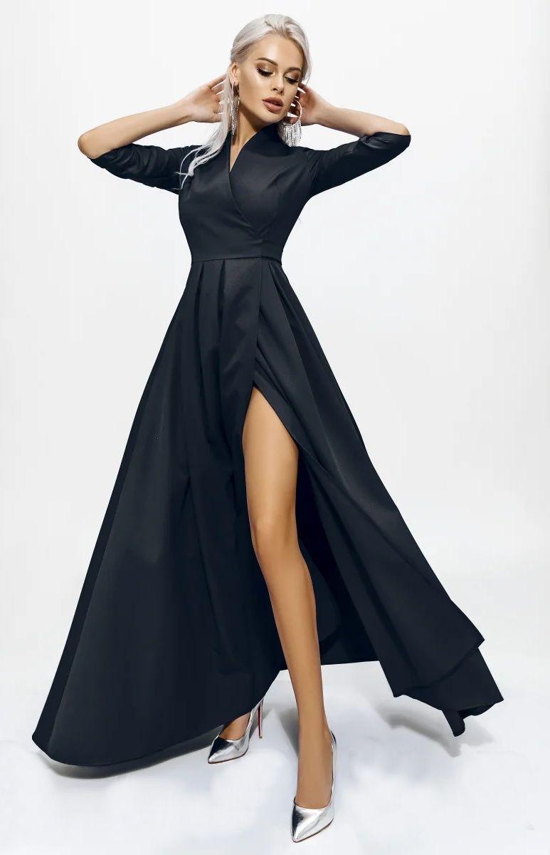 Https Www Idresstocode Com Robe De Soiree Longue Noire Xml 359 363 3182 Html Robe Noire Chic Robe De Bal Verte Robe Soiree Longue