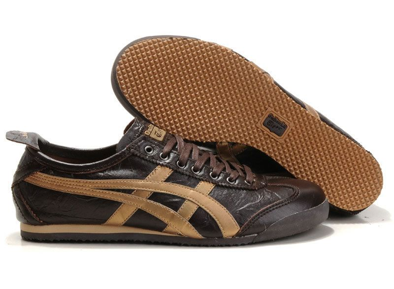 Onitsuka Tiger Mexico 66 Lauta Limited Edition (brown / gold ) [ot-L0940