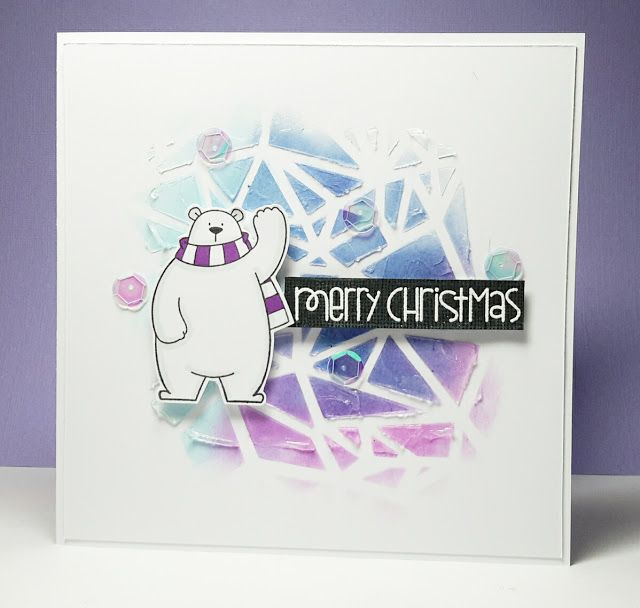 Janey\u0027s Cards More Liquitexing Holiday Cards Pinterest Cards