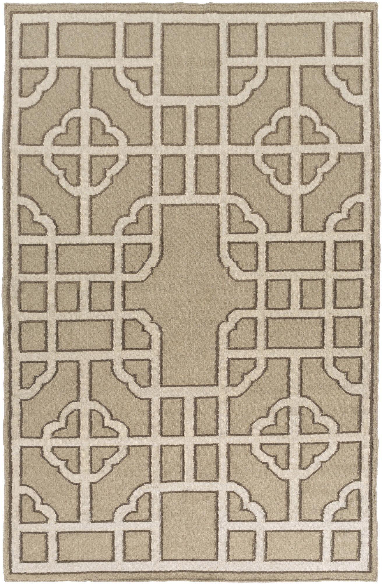 Alameda Beige/Taupe Geometric Area Rug