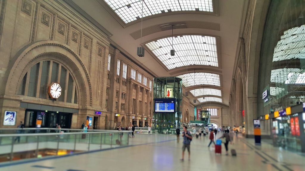 Leipzig Hbf is Europe's largest railway station, the city ...