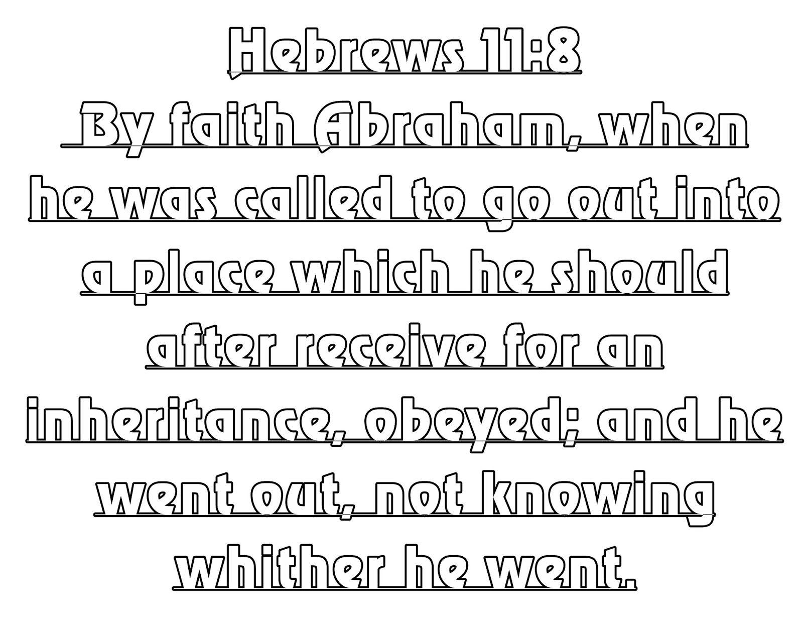 Hebrews 11 8 16 Bubble Letters Favorite Quotes Bubble Letters Lettering