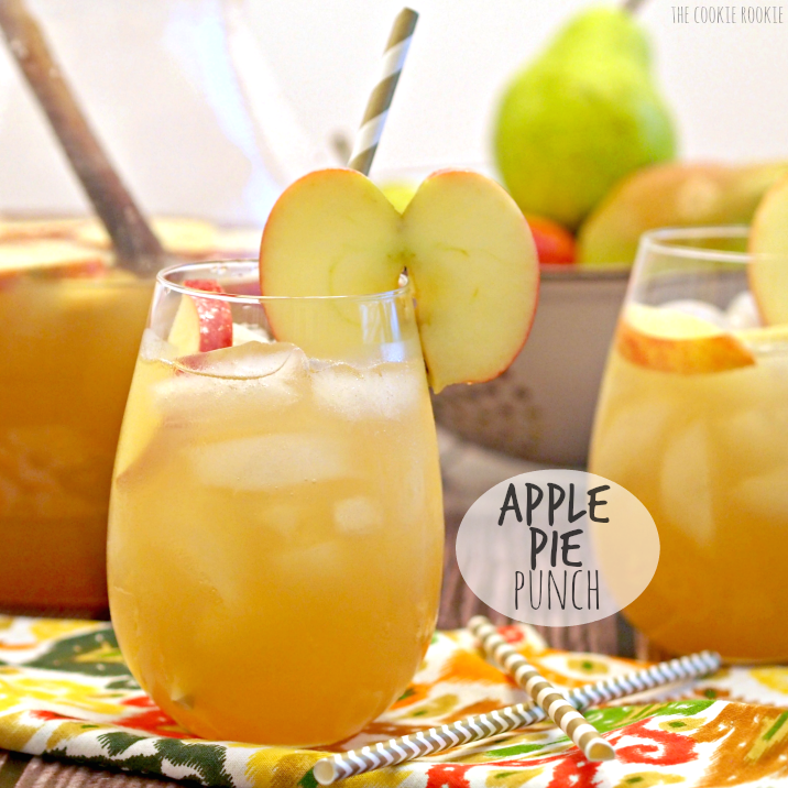 APPLE PIE PUNCH! The Best Drink For Thanksgiving And