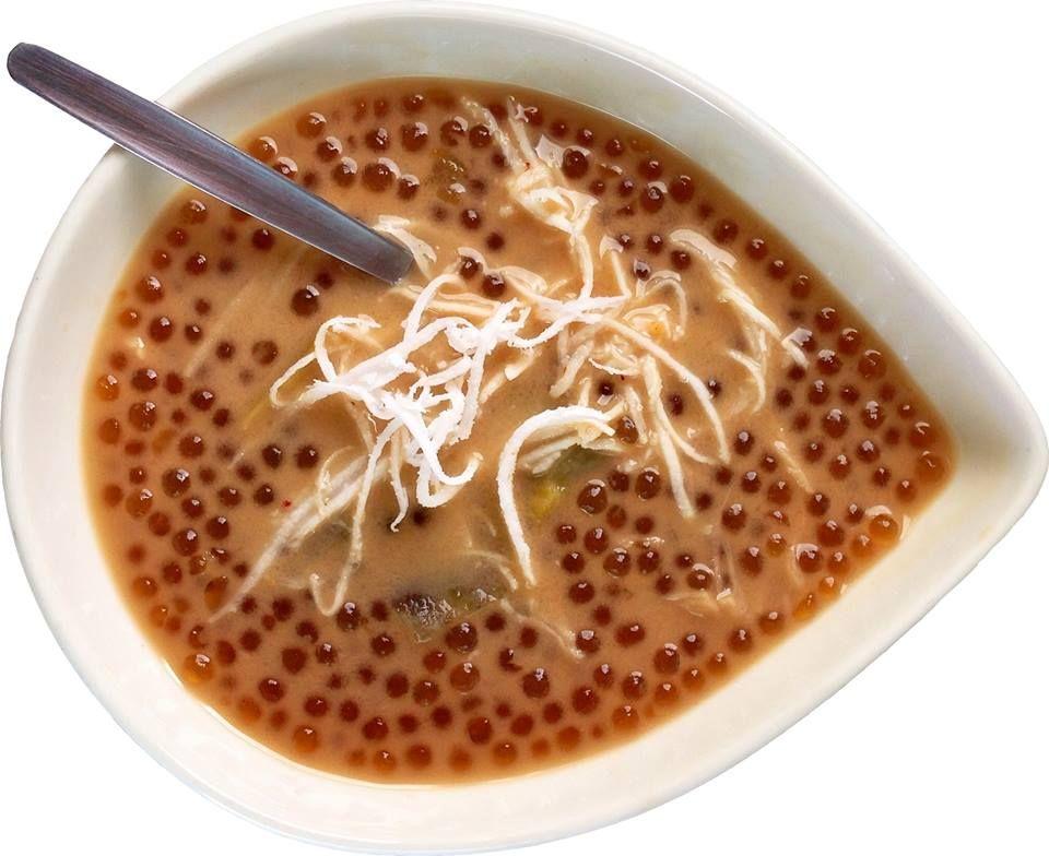 how to cook sago with coconut milk