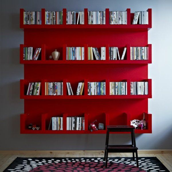L étagère murale design 82 idées originales archzine fr