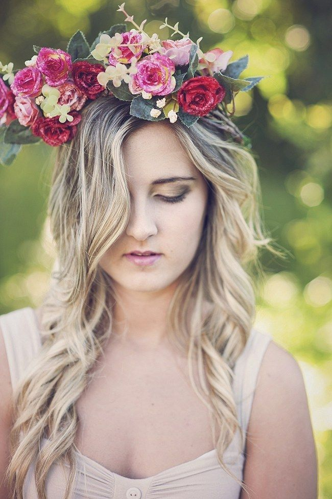 bf2c450cdf3e1 14 Freaking Fab Flower Crowns and Floral Wreaths