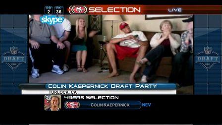 Colin Kaepernick Draft