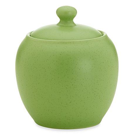 Noritake® Colorwave Covered Sugar Bowl in Green Apple