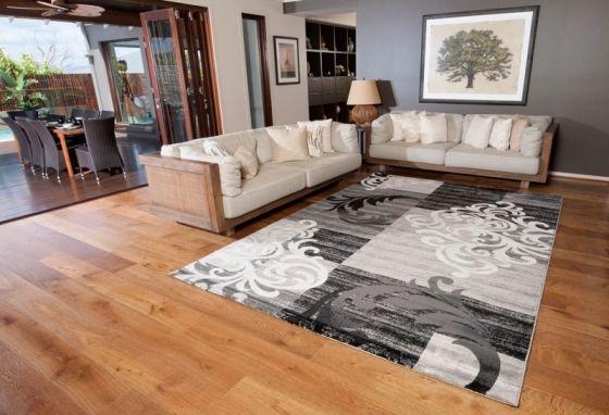Mia 7764 55 120 Grey Rugs Carpet Call On