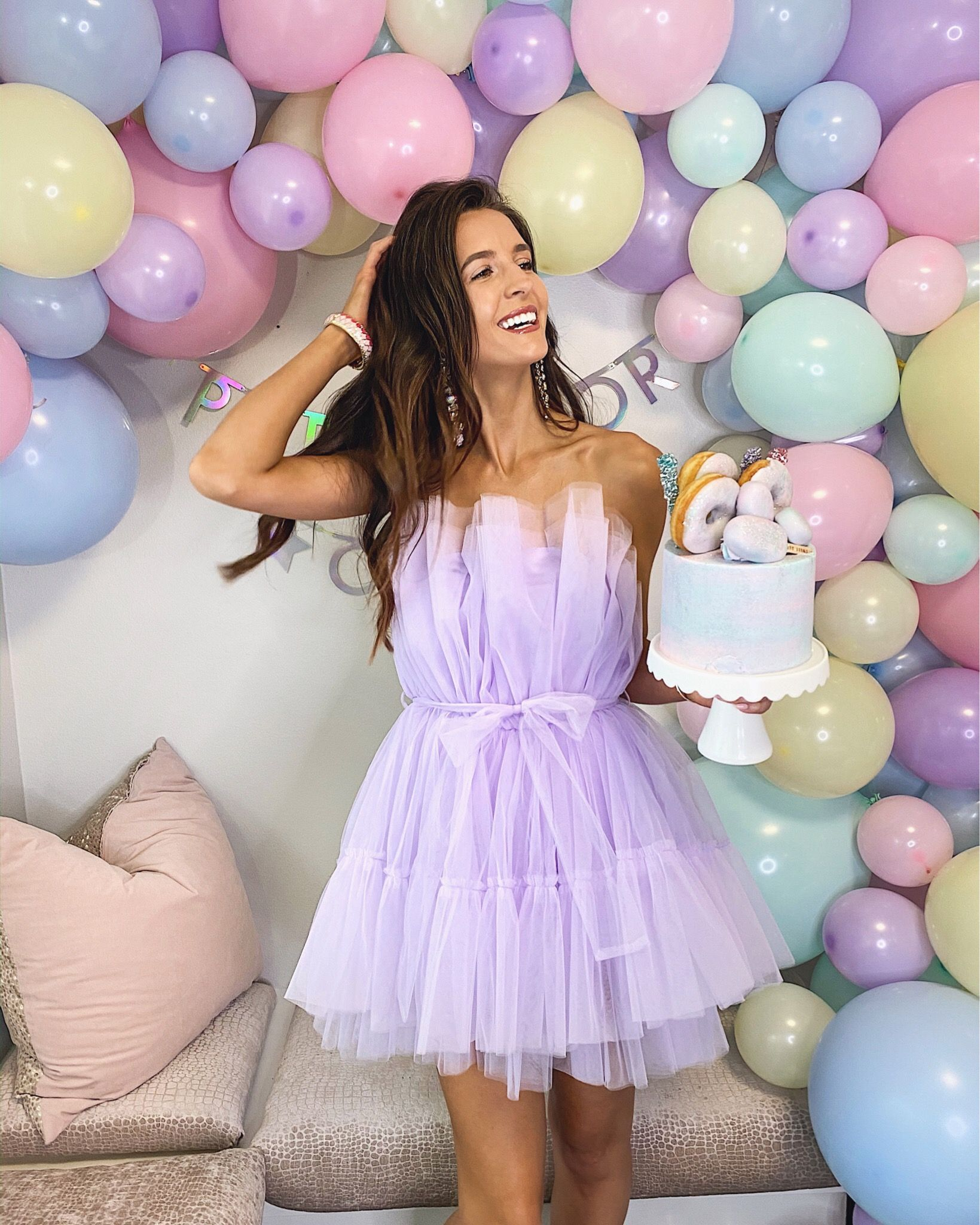 Love This Strapless Mini Lilac Party Dress Preppy Party Party Dress Fashion [ 2048 x 1639 Pixel ]