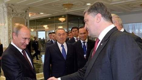 03/09/14, 08:31  − bron: Reuters 'Poetin en Porosjenko eens over vredesplan Oekraïne' - Buitenland - VK