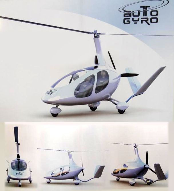 AutoGyro GMBH announces the development of a four seat autogyro - project timeline