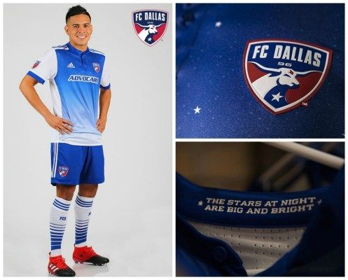 quality design 51090 bfa80 FC Dallas 2017 adidas Away Jersey | Football Kits/ Graphics ...