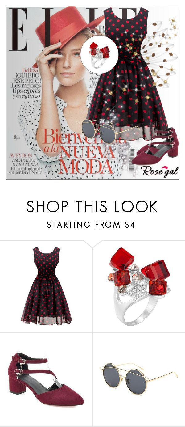 """""""Rosegal 28/ I"""" by emina-095 ❤ liked on Polyvore featuring vintage"""