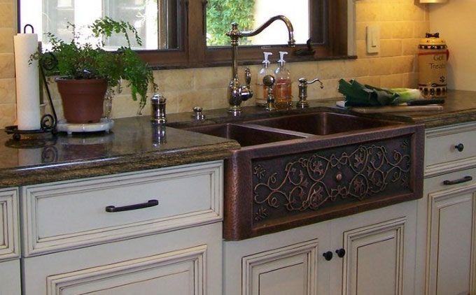 Copper farmhouse sink copper farmhouse sink kitchen pinterest copper farmhouse sink copper farmhouse sink workwithnaturefo