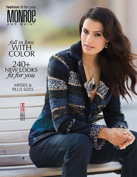 New Fall Arrivals are HERE!  Get your FREE catalog from Monroe and Main. www.monroeandmain.com