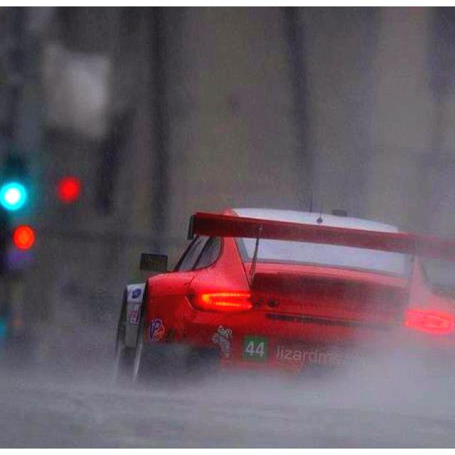 Porsche 911 rsr streets of long beach ca alms