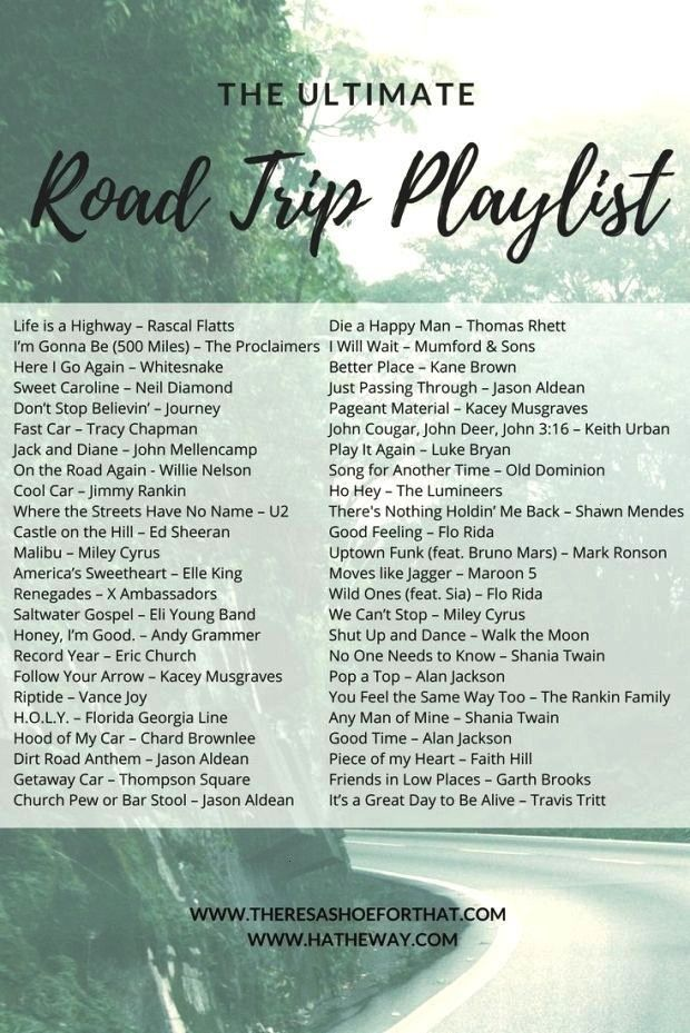 The Ultimate Road Trip playlist - The playlist to make all of your road trips as memorable as possi