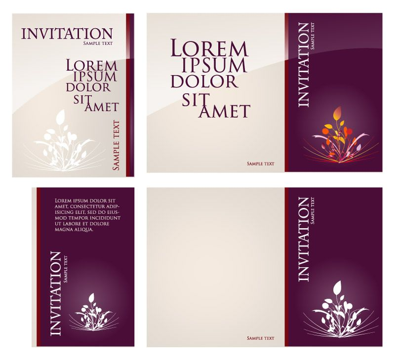 Invitation card design invitation card design pinterest invitation card design stopboris Image collections