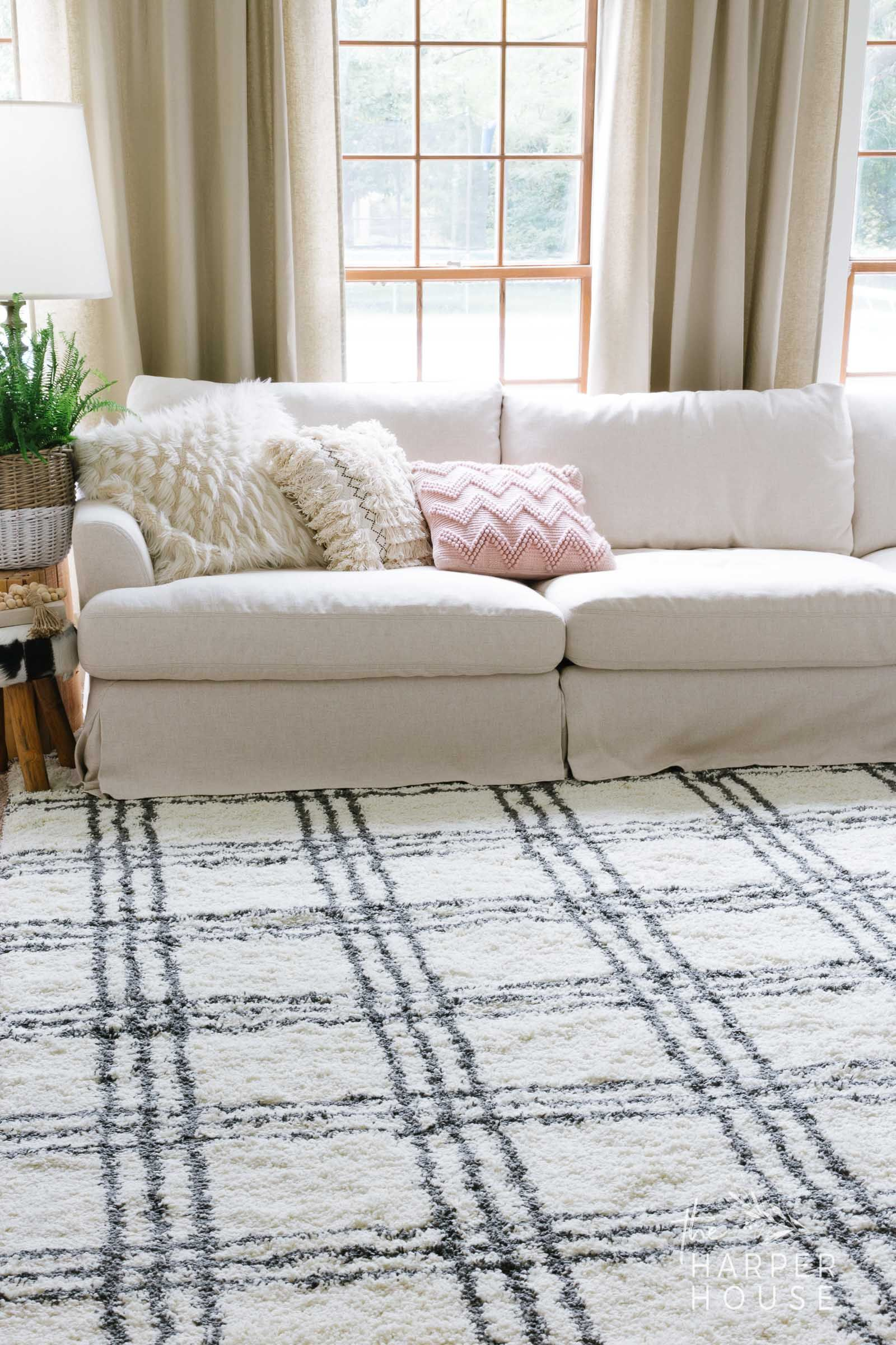 Black White Rug And Affordable Fall Favorites White Rug Black
