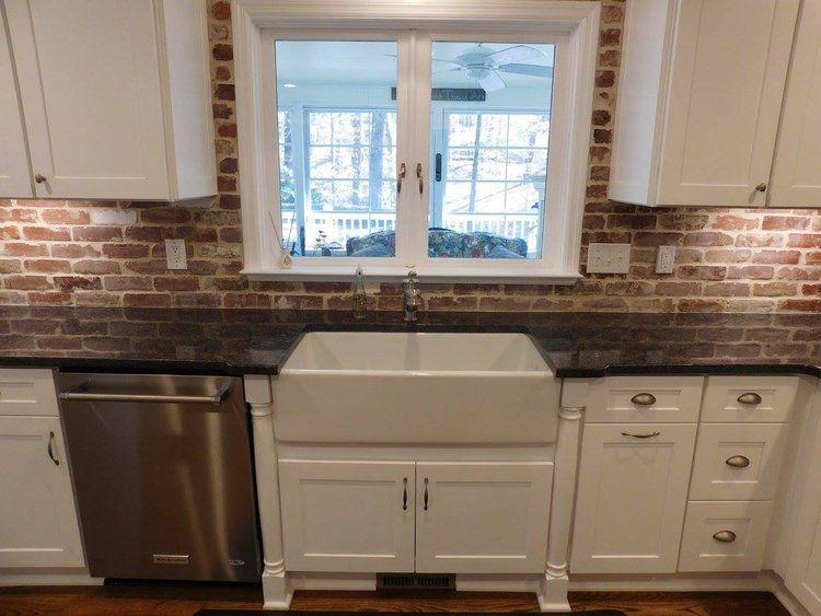 Stunning Useful Ideas Herringbone Backsplash Fireplace Backsplash Around Window Blue Bead Farmhouse Kitchen Backsplash Brick Backsplash Kitchen Kitchen Design
