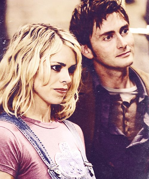 Ten and Rose. She's got a weird expression on her face