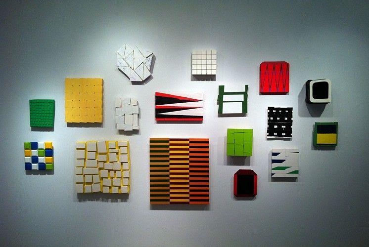 Andrew Zimmerman, Color Between The Lines Installation 2013
