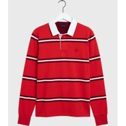 Gant Heavy Rugger Rot Gantgant Source By Ladenzeile Vneck Outfit In 2020 College T Shirts Mens Lightweight Jacket Sport Outfits