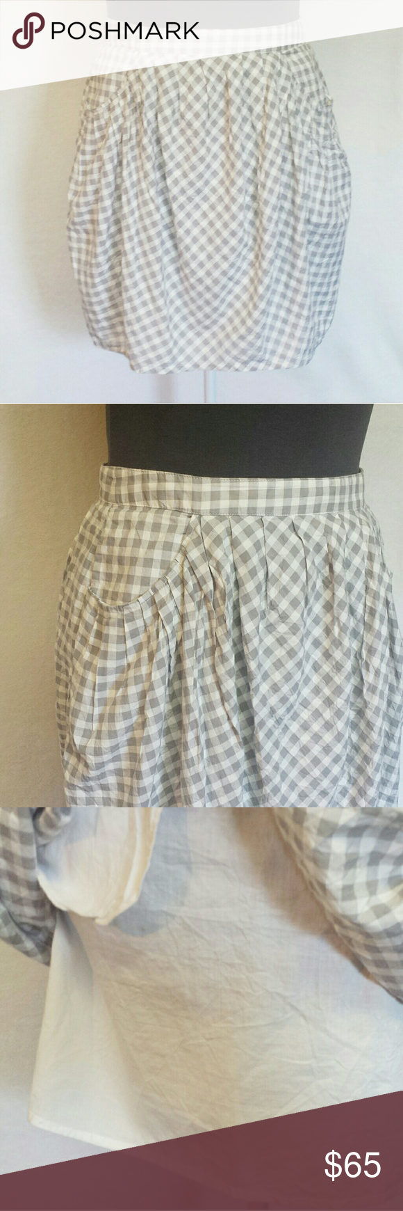 0c4294f4b Marc by Marc Jacobs Tiffany Checkered Skirt Adorable Tiffany checked style  layered skirt. This skirt