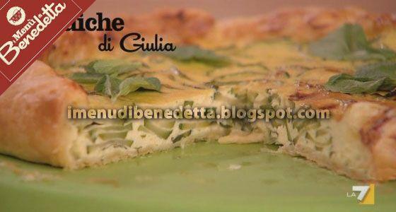 Quiche Di Zucchine Di Benedetta Parodi Benedetta Parodi