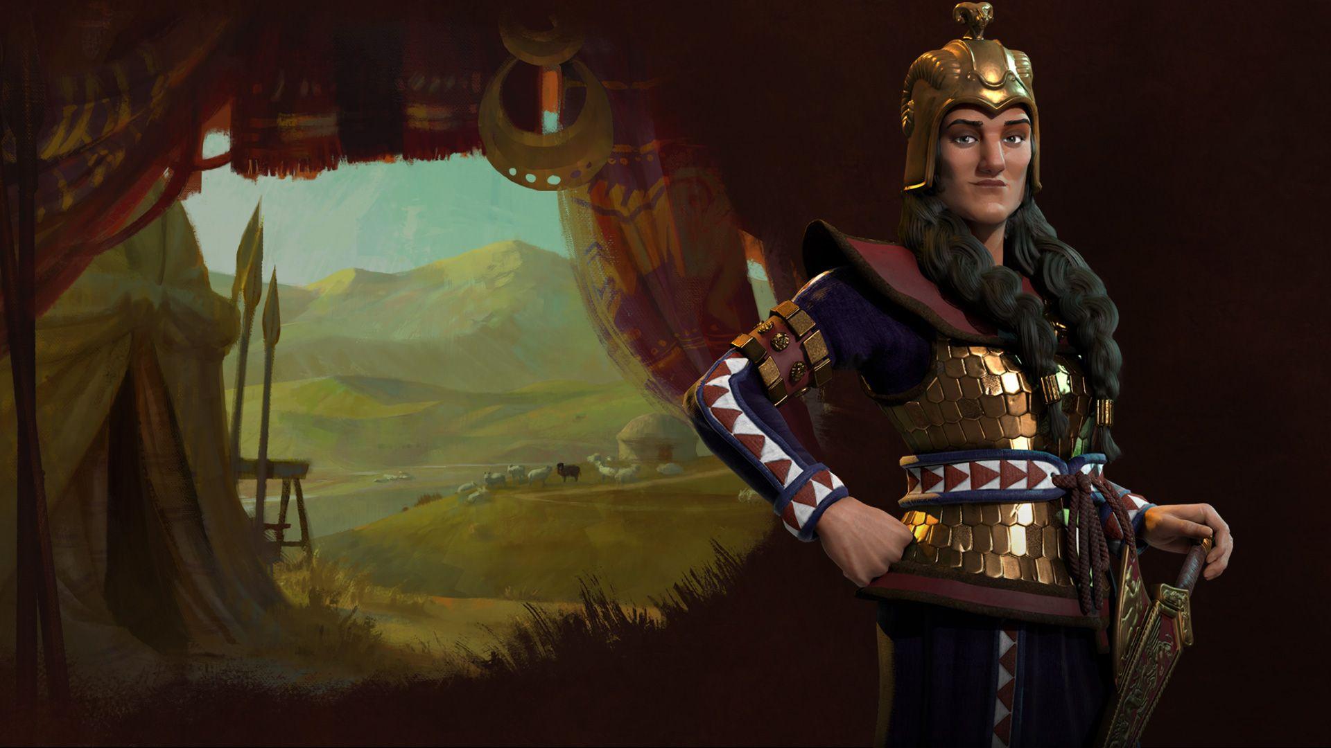 Civilization VI | News | Civilization VI: Tomyris Leads Scythia