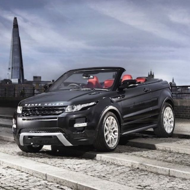 I Think Land Rover Have Created Something That Almost Every Lady In The World Is Going To Want Gu Range Rover Evoque Convertible Range Rover Evoque Land Rover