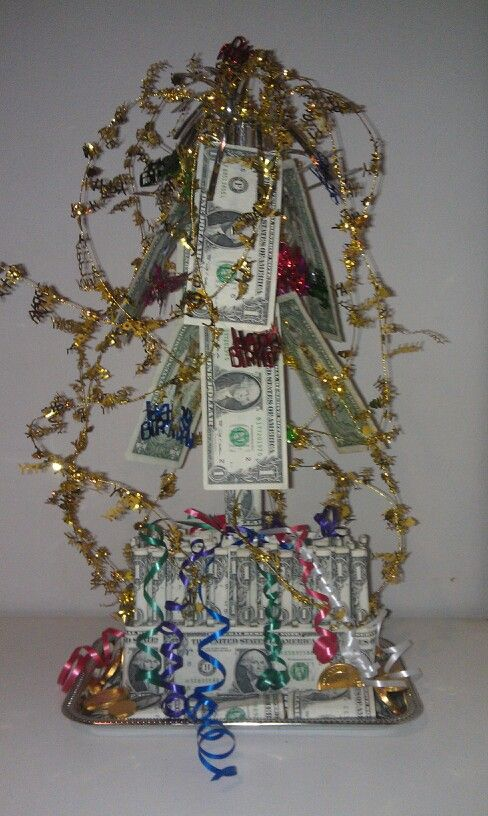 The Money Tree For My Sons 21st Birthday