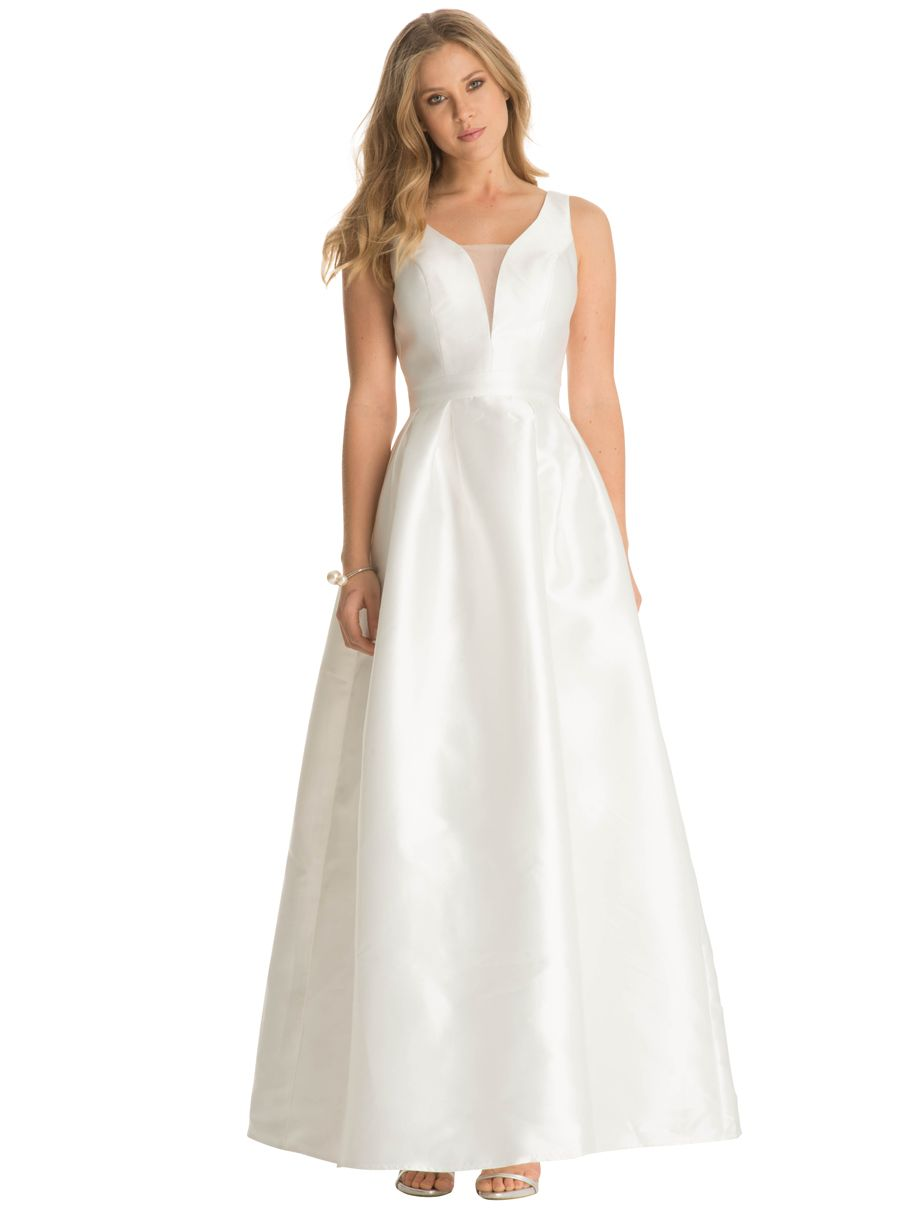 Budget wedding dress london