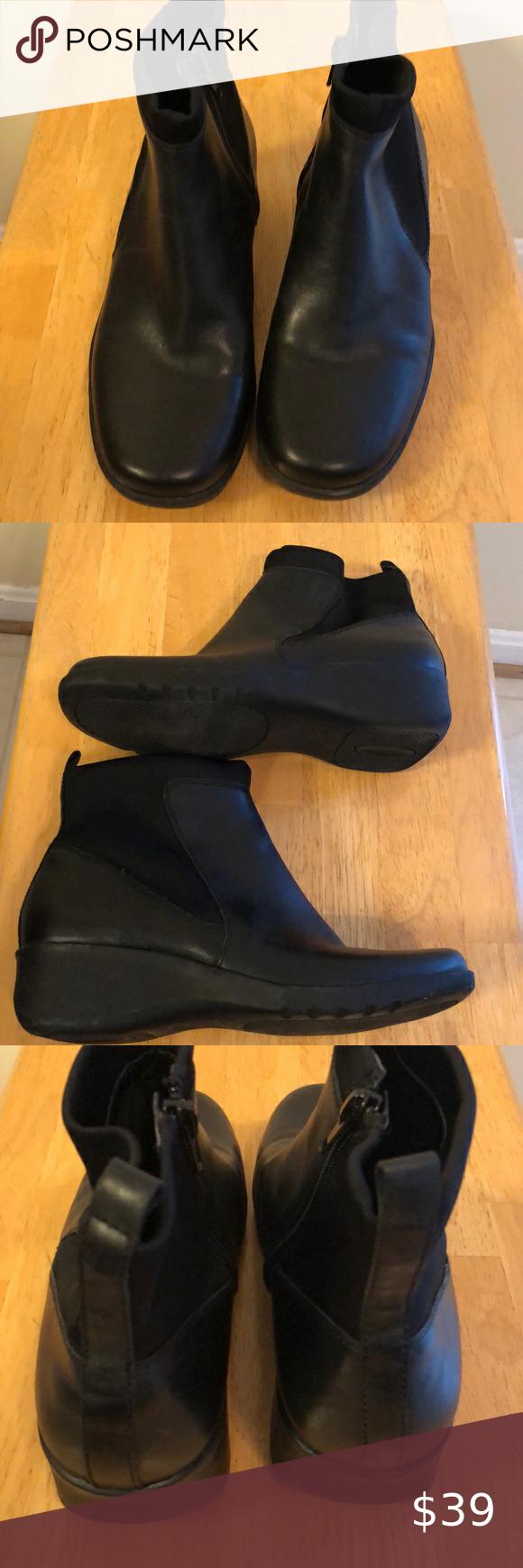 Easy Spirit Black Boots in 2020 | Black