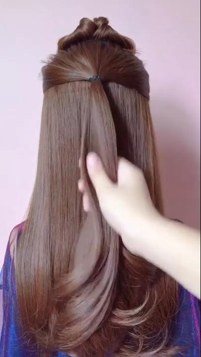 Hair Styles Videos 78 Hair Hair Style Easy Hair Style For Girls Hair Style For School Hair Style In 2020 Hair Styles Medium Length Hair Styles Medium Hair Styles