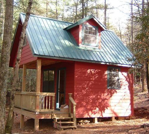 Tiny Red Cabin Tiny House Pins Tiny Cabin Plans Tiny House Cabin Small House