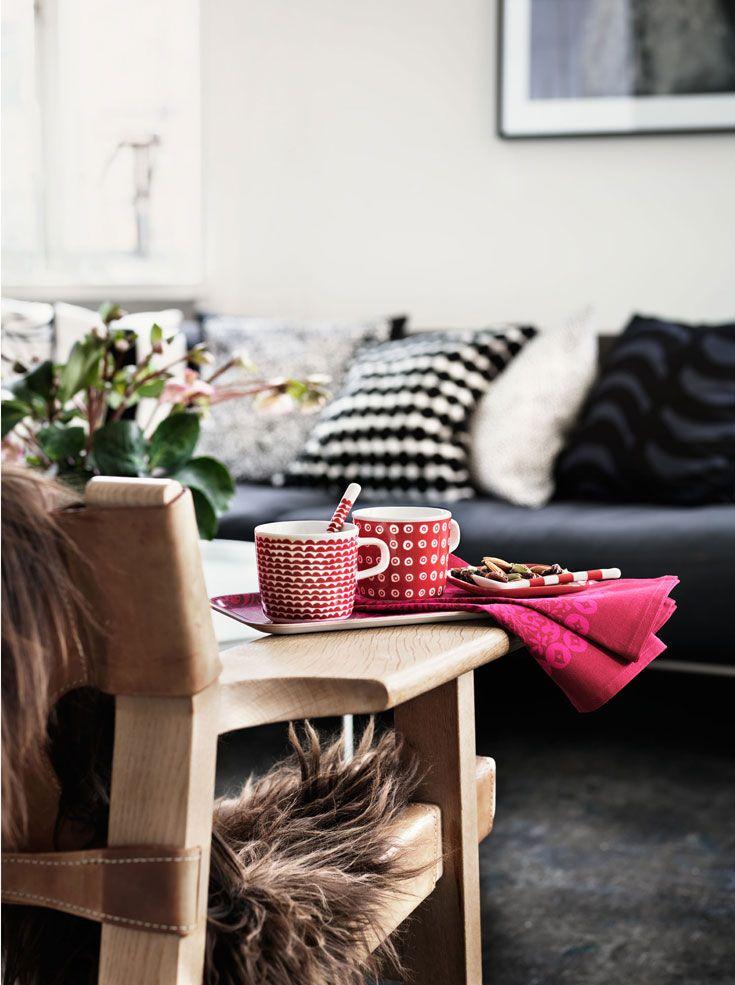 Marimekko i samarbete med lotta agaton dansk inredning och design
