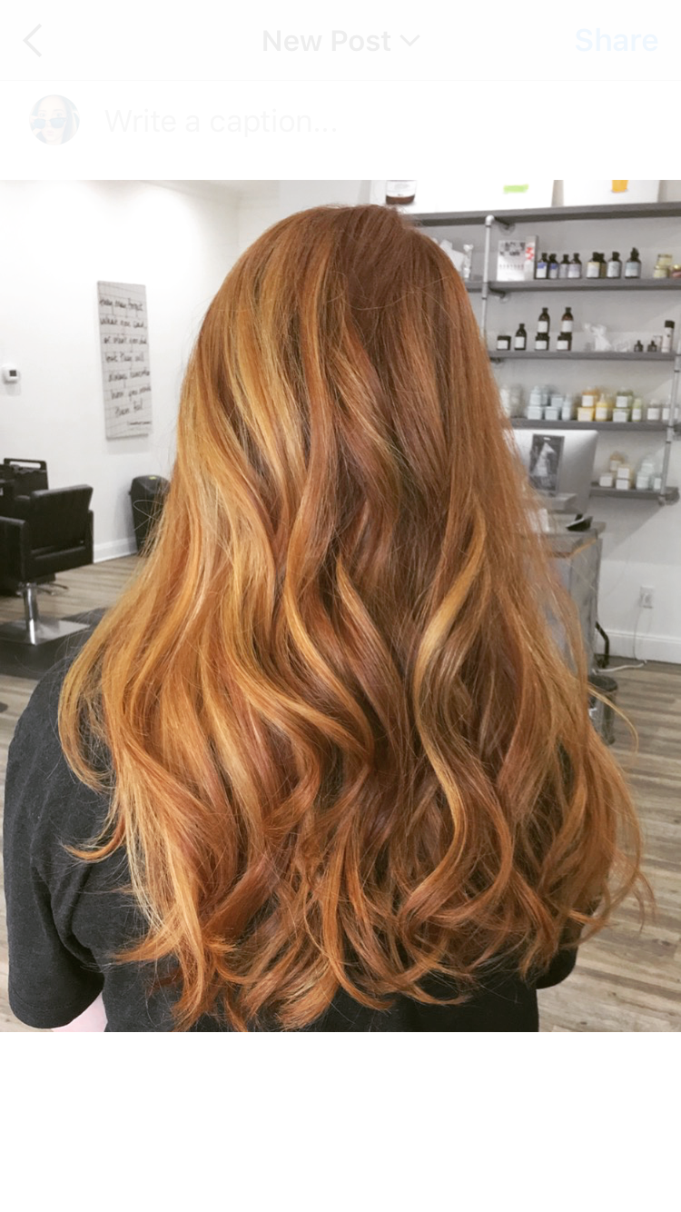 Red Strawberry Blonde Balayage In 2020 Blonde Hair Color Hair Styles Blonde Balayage