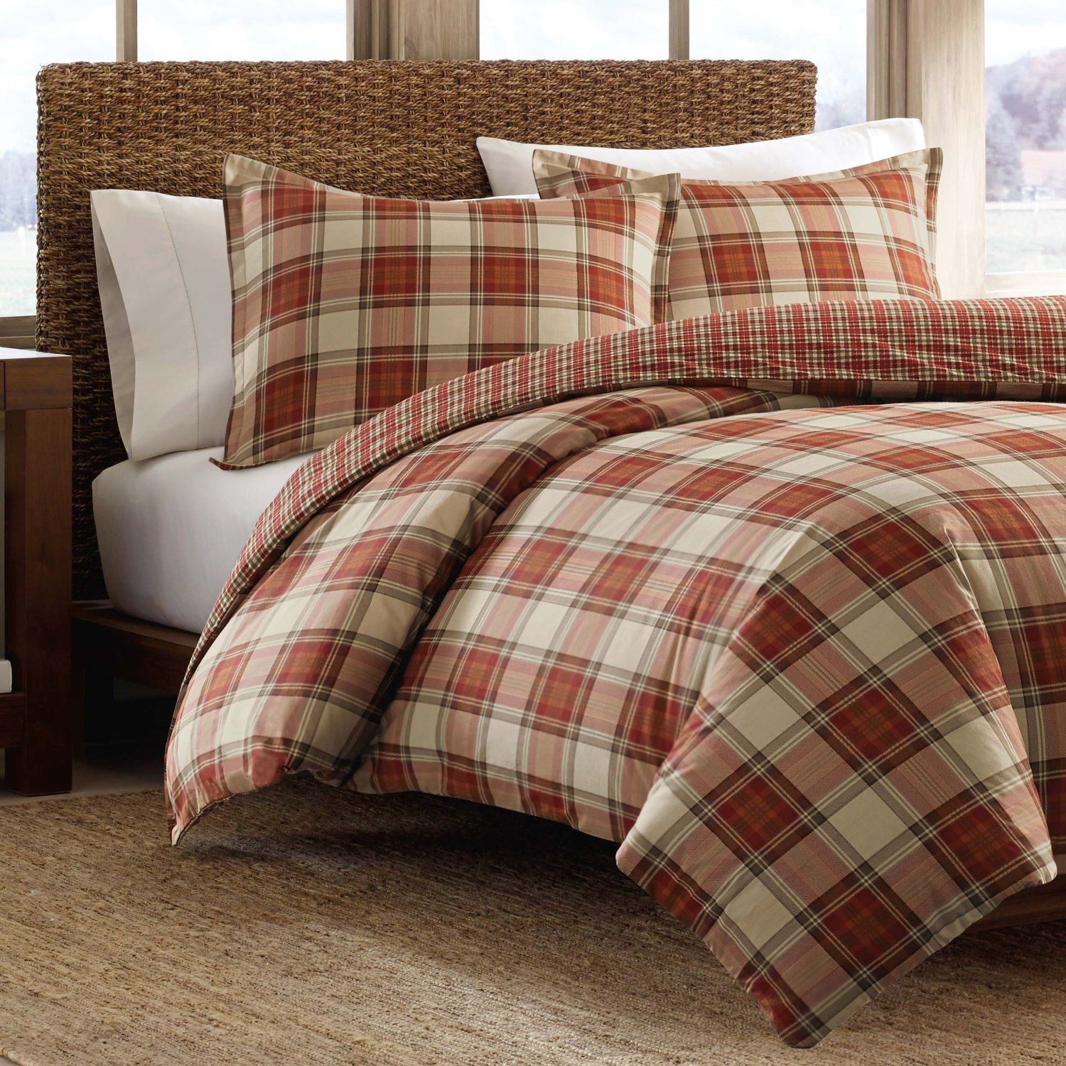 penneys cover check red snowflake buffalo full info duvet plaid kohphiphi size flannel page set