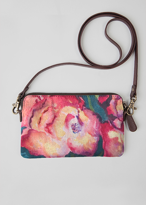VIDA Leather Statement Clutch - GIGGLING by VIDA yjUpJ4